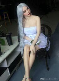 Rosto de sexo japonês on-line-165 cm japonês sexo silicone face Europa Realistas reais bonecas sexuais de silicone peito grande silicone mama boneca sexual para o homem 132