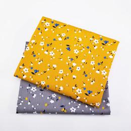 Bettwäsche stoff meter online-2 teile / los Baumwolle Blumen Stoff Patchwork Atmungsaktives Tuch Durch Meter Für Quilten Baby Bettwäsche Decke Nähen Tuch Material