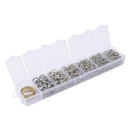 Ring che fanno forniture online-Una scatola di anelli da salto da 4-10 mm per la ricerca di gioielli e per la riparazione di gioielli