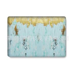 Мраморный гранит дизайн пластиковый кристалл чехол защитная оболочка рукав для Macbook Air Pro Retina 11 13 15 дюймов водная наклейка чехол образец от Поставщики pp ремень
