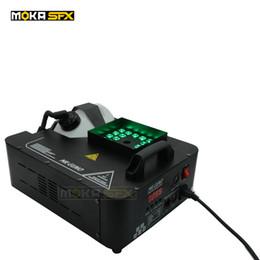 Fogger maschinenstadium online-Moka MK-F01 2pcs / lot 1500w DMX Nebel-Maschinen-Stadium führte 1500w-Spalten-Rauch-Maschinen-thermische Fogger-Maschine für Bühneneffekt Freies Verschiffen
