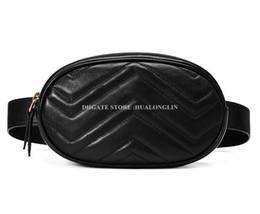 Натуральная кожа талии сумка женщины Marmont сумочка высокое качество оригинальный коробка Марка дизайнер известный новая мода молния мягкая продвижение скидка от Поставщики корпус органайзера для сотового телефона