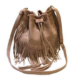 affe28f4ce 2018 Women Tassel Messenger Bags Fashion Ladies PU Leather Handbags String  Luxury Crossbody Shoulder Bags A071