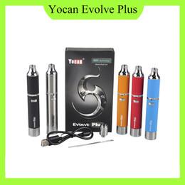Yocan Evolve Plus Kit Quartz Cire à double enrobage Vaporisateur à base de plantes 1100mAh Batterie stylo vape sec Vaporisateur Kit de cigarette électronique 0266119 ? partir de fabricateur