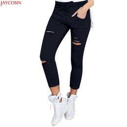 f55160805e9 wholesale colored skinny jeans women Promo Codes - 2018 JAYCOSIN High Waist  Skinny Fashion Boyfriend Material