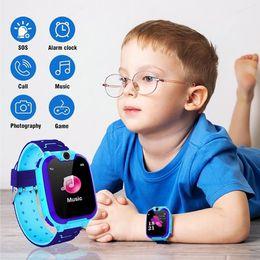2019 relógio para crianças Smart watch lbs kid smartwatches relógio do bebê para crianças chamada sos localizador localizador rastreador anti perdeu monitor de câmera desconto relógio para crianças