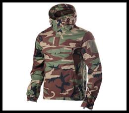 Kampf Operation Shirt Tactical Langarm T-Shirt Hoodie Airsoft T-Shirt Outdoor Sportarten Painball Kleidung von Fabrikanten