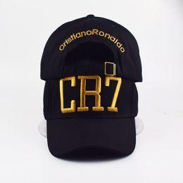 Deutschland Mode-stil Cristiano Ronaldo CR7 3D stickerei baseballmützen hip hop caps baumwolle einstellbare snapback hüte hohe qualität Versorgung