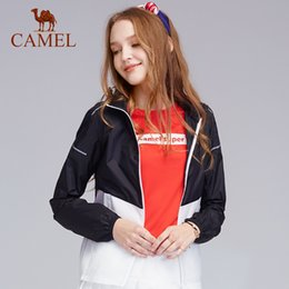 4685e211956 CAMEL Men   Women Outdoor Skin Coat Ultra-thin Breathable Quick Dry Skin Clothing  UV Protection Sport Beach Hiking Jacket