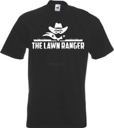 Газон Рейнджер смешно садоводство лозунг футболка косилка косилка Земли подарок смешные новые мужчины новые футболки смешные топы Tee бесплатная доставка от