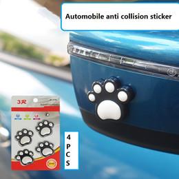2019 autoadesivo di riciclaggio Styling Car Sticker Orso Animale Impronta Emblema Auto Auto Crash Sticker Porta laterale Guardia Protector Decorazione