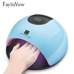 beleza jp Desconto Lâmpada Led UV Secador de Unhas Manicure SUN Lâmpada Luz Para Unhas De Cura Todos Gel Polonês Máquina Sensor Nail Art LED Secador de Ferramentas 80 W