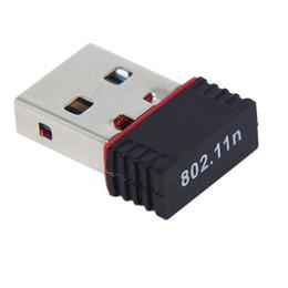 2019 adaptadores wifi Adaptador inalámbrico Nano 150M USB Wifi 150Mbps IEEE 802.11n g b Mini Adaptadores Antena Chipset MT7601 RTL8188 Tarjeta de red USB WiFi Adaptador LAN rebajas adaptadores wifi