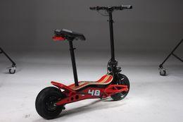 2019 scooters électriques personnalisés Scooter Top Quality 30km / h Max Speed et 48V Voltage vélo électrique pliant