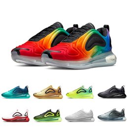 2019 i più nuovi pattini di pallacanestro fuori nike Air Max 720 scarpe firmate total eclipse sunset nord lights day mens womens luxury moon throwback future Sneakers running outdoor 36-45