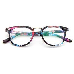 e2fd61989cc New Fashion Eyeglasses Retro Vintage Frame plain optical glasses men women  myopia eyeglasses frame oculos de grau