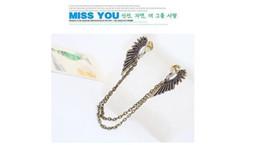 Broches velhos on-line-Atacado de novos broches de colar de moda com asas de anjo e colares de diamantes em 2019, Broches