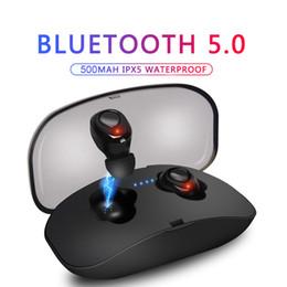 Mini Wireless Bluetooth 5.0 Stereo Headset Wasserdichte Sport Kopfhörer In-Ear-Ohrhörer Ohrhörer TWS Mit Ladebuchse von Fabrikanten