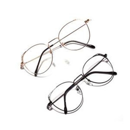 4cf88b7fa2 metal frames for eyeglasses 2019 - Women Round Flat Mirror Retro Cat Eye  Eyeglasses Frames For