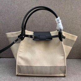 Sacs fourre-tout en toile de taille moyenne en Ligne-Fshion luxe grand designer sacs fourre-tout sacs de marque de taille moyenne sacs à main de femmes sac de shopping