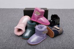 U botas de inverno infantil fundo macio antiderrapante botas da criança recém-nascidos meninos e meninas neve Martin botas casuais tênis cheap infant soft bottom shoes de Fornecedores de calçados infantis de baixo macio