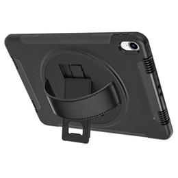 manicotto per i ridurre in pani del ipad mini Sconti Per iPad Pro11 2018 ipad 12.9 2018 Hybrid 3 in 1 Tablet Custodia Cavalletto Cover 360 gradi di rotazione Flip PC Stand mano cinghie scatola al minuto