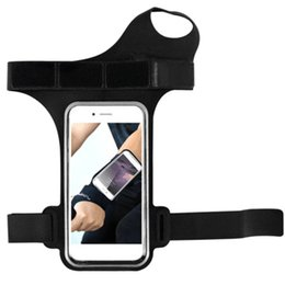 Ремень для телефона онлайн-5.5in Arm Running Phone Jogging Strap Cycling With Belt Wrist Gym Bag Wristband For IPhone