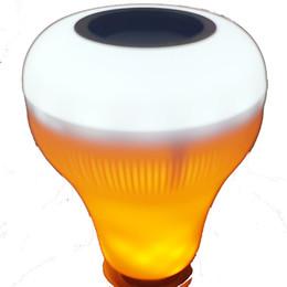 E27 18 W Bluetooth Speaker Chama Lâmpada de Música Inteligente Sem Fio Player Decorativo Chama Da Lâmpada LED RGB Pode Ser Escurecido Luz de Flamejamento De Áudio Flame cheap 18 speakers de Fornecedores de 18 alto-falantes