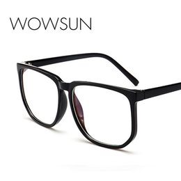 wholesale reading sunglasses Coupons - WOWSUN Square Sunglasses Ultralight Unbreakabl Male Brand Designer Sun Glasses Female Oversized Reading Eyeglasses UV400 A710