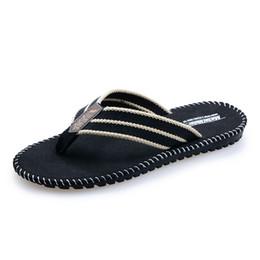 4e5bd4f12b19a2 Oeak Mens Flip Flops Sandals 2018 PU Casual Man Shoes Summer Slippers  BeachMen s Anti-Skid Bath Slippers Thong