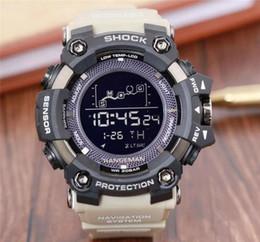 Resina al quarzo online-Orologi da uomo sport orologio digitale al quarzo militare orologi impermeabili firmati di alta qualità designer cinturino in resina orologi da studente in stile maschile