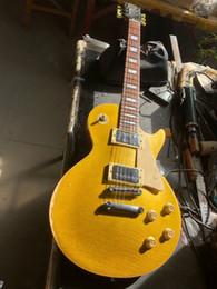 Relic 1968 Goldtop 50th Anniversary Guitar électrique un cou pièce Agea Heavey Relic Relic Guitar Relic Lignes de fissures ? partir de fabricateur