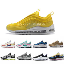 bfe82281761a00 2019 Chaussures 97 Sean Wotherspoon Running Shoes SE 97s OG Ultra Brand  Designer Air Women Mens Trainers Maxes Plus Gold Silver Bullet Shoe