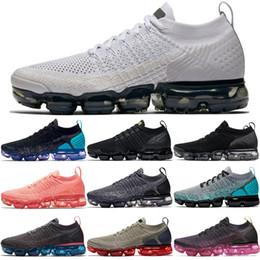 Zapatillas de deporte de las mujeres online-Nuevos colores 2.0 Zapatillas de correr Hombres Mujeres Zapatos de lujo clásico Negro Blanco Deporte Shock Jogging Caminar Senderismo Deportes zapatillas deportivas 36-45