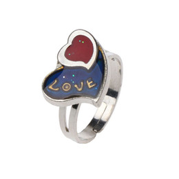 Сердце настроение кольцо онлайн-17 мм любовь форма сердца изменение цвета настроение кольцо эмоции чувство температуры кольца женщины рождественские подарки