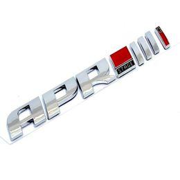 calcomanías de golf Rebajas 1 unids 3D ABS de plástico Auto Car APR Etapa /// Emblema de la Cola Etiqueta Engomada Del Lado Etiqueta de estilo Para El Golf Tiguan S3 S5 S6 TTS RS7
