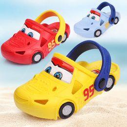 scarpe auto per i ragazzi Sconti 2019 New Hole Shoes 2-7 Anni Car Car Styling Toddler Bambini Bambini RAGAZZE RAGAZZI Beach Slipper Anti Skid Estate Animale Stampe