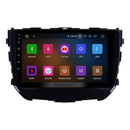 Canada Lecteur multimédia de voiture 9 pouces Android 9.0 8-core pour 2016 2017 2018 Suzuki BREZZA avec Bluetooth Wifi GPS Navi support voiture lecteur de DVD 4G DVR Offre