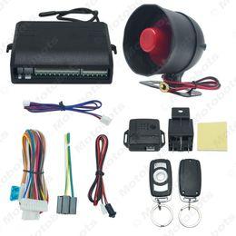 Alarme do carro Sistema de Segurança Manual do Botão Reset Função assaltante Proteção de alarme com 2 controle remoto # 2224 de