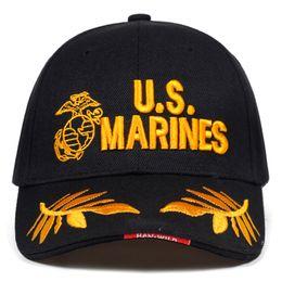 2019 chapeaux de marines 2019 nouvelle US MARINES Lettre broderie baseball Cap Couple hip-hop Snapback casquettes de mode chapeau de loisirs chapeau de papa réglable en plein air chapeaux de marines pas cher