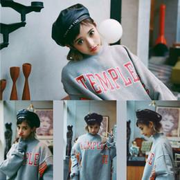 Boina de cuero de imitación de las mujeres maciza natural Flat Top PU Boinas Sombreros estilo francés Casual Cap 2019 Hot desde fabricantes