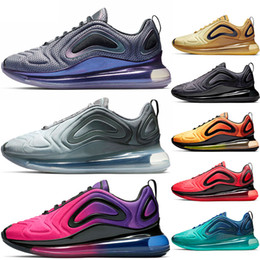 the latest 7b31a f9149 NIKE 720 AIR MAX 720 airmax Vapormax vm Scarpe da ginnastica uomo Fashion  720 scarpe da corsa uomo donna Northern Lights Rosa mare TRIPLE BLACK  CARBON GREY ...