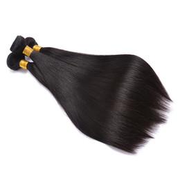 2019 vrais cheveux indiens brésiliens Cheveux humains vierges brésiliens tissent 3 faisceaux droits, Extensions de cheveux de Remy péruviens bruts à prix de gros, achètent de vrais Indiens naturels Co vrais cheveux indiens brésiliens pas cher