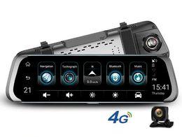 "Espejos de cámara gps online-4G ADAS Cámara DVR para automóvil 10 ""Reproductor de video Stream Camión registrador de video de Media Stream Retrovisor Android 1080P WiFi GPS Dash Cam"