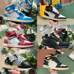 2019 white air jordan Retro off Jordans Nike OG Mid Basketball Schuhe Günstige Royal Banned Bred Schwarz Weiß Toe Männer Frauen 1s Nicht für den