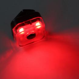 2019 luz de advertencia de la batería Herramienta de iluminación de la lámpara de la mochila con pilas de la luz de advertencia de 3 modos para la bicicleta del engranaje fijo rebajas luz de advertencia de la batería