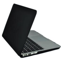 coquille d'ordinateur portable de macbook Promotion Powstro Laptop Case Pour MacBook 12 13 15 pouces Avec Touch Bar Sleeve Shell Clavier Couverture Sac D'ordinateur Portable Housse De Protection