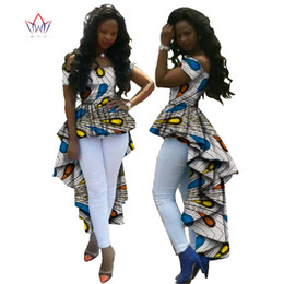 denim vestido de colarinho branco Desconto Roupas de marca Bazin Riche Plus Tamanho 6xl Moda Feminina Vestido Africano Impressão Dashiki Gala Vestido Vestidos Estilo Único Vestido WY615