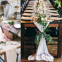 Matrimonio Tovaglia 50 colori tondo e rettangolo lungo tavolo torta nuziale Idea mascherata decorazioni per feste di compleanno tessuto BF da trim per torte nuziali fornitori