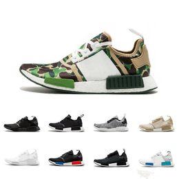 2019 zapatos de camuflaje para mujer ADIDAS 2019 R1 Oreo Runner Nbhd Prime Knit OG Triple Negro Blanco Camo zapatillas para hombre para mujer Nmds Runners Xr1 calzado deportivo tamaño 36-45 zapatos de camuflaje para mujer baratos